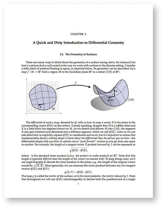 research papers differential geometry The new theory was based on differential geometric machinery developed during  the  research on the einstein equation and general relativity proceeds at an.