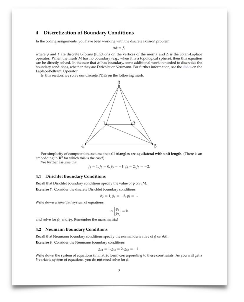 CS 15-458/858: Discrete Differential Geometry – CARNEGIE
