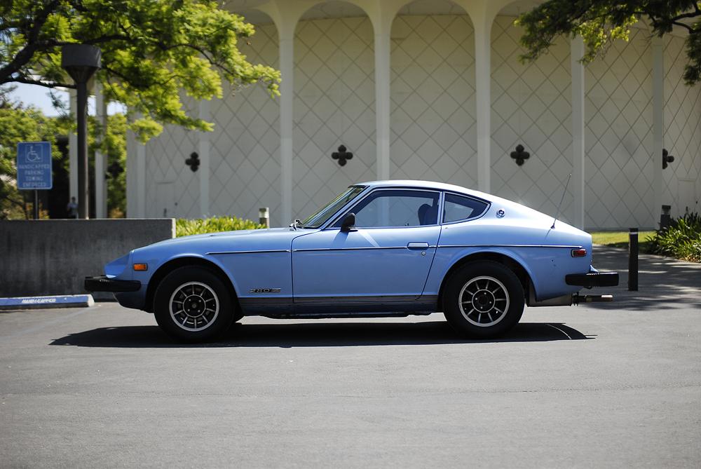 78 280z 5 Speed Blue Great Shape Nissan Datsun
